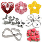 Mix Cake Stainless Fondant Cutter Biscuit Cookies Pastry Baking Sugarcraft Mold