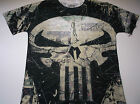New Marvel Punisher shirt men's sizes small - 2XL all over print Marvel Punisher