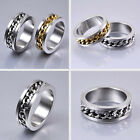High Quality Mens Jewelry Or Rings Silver Gold Titanium Stainless Steel Hot Sale