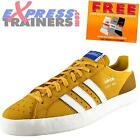 Adidas Originals Mens Basket Profi Lo Casual Leather Trainers Yellow *AUTHENTIC*