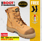 Oliver Work Boots, 45632z, Zip / Lace-Up, Non-Metal Toe Cap Safety NEW!