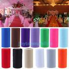 "1 Roll Spool Tissue Tulle Paper Craft Wedding Banquet Bow Party Decor 6""x25yd #j"