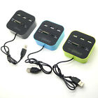 3 Ports USB 2.0 HUB with Multiple Card Reader Combo for SD/MMC/M2/MS All-In-One