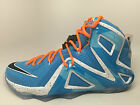 SALE Nike Lebron 12 Elite Blue Elevate Collection 724559-488 Size 8 9 11 12