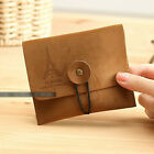 Style Faux Leather Retro Novelty Suede Nostalgic Wallet Key Coin Bag Pouch Purse