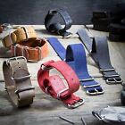 ZULUDIVER Genuine Leather Watch Strap ZULU Distresso 20mm 22mm