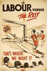 1930's Labour Party Election Poster A3 Print