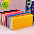 Trendy New Prints Lettering Purse Women Leather Wristlet Wallet for iPhone LACA
