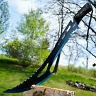 """24"""" TACTICAL SURVIVAL Fixed Blade ZOMBIE MACHETE Hunting Sword Full Tang Knife"""