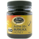 Pure Gold Active 20+ Manuka Honey Choice of Sizes One Supplied