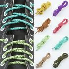 Purple/Pink/Yellow Thick Plaid Dot Hiking Walking Trainers Sneakers Shoelaces