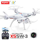 Syma X5SW Wifi FPV Explorers 2.4Ghz 4CH RC Quadcopter Drone HD Camera UFO Black