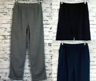 Mens Casual Thick Sports Pants Trackies (9629) Grey Black Navy Sz S M L XL XXL