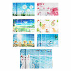 Wall Sticker Kitchen Decoration Wallpaper Waterproof Oilproof Removable Decal