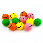 12 Smile Face Stress Squeeze Balls Assorted Colors 2.5 Inch Happy Smiley Relief