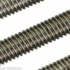 Aluminium Threaded Bar - Rod Studding Allthread - M4 M5 M6 M8 M10