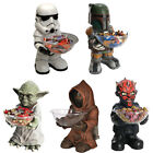 Star Wars Giant Figure And Candy Bowl New & Official In Box Jawa/Yoda/Darth Maul