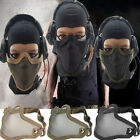 Airsoft Mask Mesh Wire Half Face Protection Hunting Paintball Tactical Strike