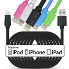 3M 100% Genuine LP Apple MFi Sync Charger USB Data Cable To iPhone 6 5s 5 iPad 4