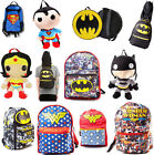 DC Comics: Backpack / Rucksack - New & Official With Tags Wonder Woman/Batman