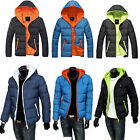 Men's jackets Fashion Casual hooded padded jacket thick cotton coat