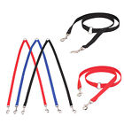DOUBLE DOG TWIN STRONG MULTICOLOR LEAD PET DOGS WALKING LEASH