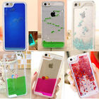 Dynamic Liquid Glitter Star Dolphin Fish Hard Case Cover For Apple iPhone6 4.7""