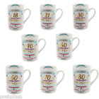 NEW Signography Birthday Mug Select from 18th 21st 30th 40th 50th 60th 70th 80th