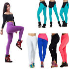 Fashion Women's Tights YOGA Running sports High Waist Cropped Fitness Pants