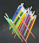 Childrens kids art paint brushes - select brush size & Quantity FREE POST N19