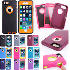 3-Layer Heavy Duty Rugged Impact Shockproof Case Cover For Apple iPhone6 6Plus