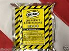 Emergency food ration MAYDAY 1200 cal mini meal  backpack bug out bag disaster