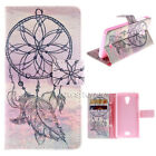 PU Leather Wallet v27 Flip Stand Card Case Cover For Wiko Serious Model Phone
