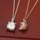 New Fashion Women 18K GP Gold use Swarovski Crystal Pendant Chain Necklace N505
