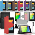 Protector PU Leather Smart Case Back Cover for Google 2nd Gen 2013 Nexus 7