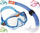 Aqualung Set Reef DX Junior Mix hochwertiges  Masken Schnorchel Set für Kinder