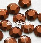 Brown Iron On Faceted Hot Fix Rhinestuds Flatback Gems Bead Tool 2mm 3mm 4mm 5mm