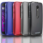 Frosted Matte Soft Flexible TPU Gel Case Cover For Motorola Moto G 3rd Gen 2015