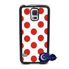 Cherry Pie Polka Dot, Red & White Case for Samsung Galaxy S5, Cell Cover