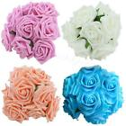 10Pcs Lot Rose Flowers Head Party Wedding Bridal Bouquet Decoration Posy BDRG