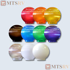 "Polymer Products (1)  6"" Replacement Globe for String Lights - 10 Color Choices"
