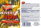Ultra Energy Now, Herbal Supplements (1 Box 24 Packs x 3' tabs in each)