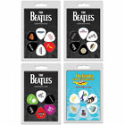 Set Of 6 Guitar & Bass Plectrums / Picks - New And Official In Pack The Beatles