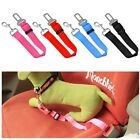 DOG Safety Seat Belt CAR Adjustable Nylon Pet Harness Restraint Lead Travel Clip