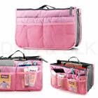 Large Lady Travel Insert Handbag Organiser Purse Liner Organizer Tidy Bag Women