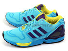 Adidas Originals ZX Flux Aqua Bright Cyan/Collegiate Purple/Bright Yellow AF6303
