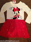 New Primark Disney Minnie Mouse long sleeved dress
