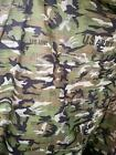 FLY TARPS CAMPING FISHING ARMY RATED IN GREEN AND DPM CAMO SIZE 2X3 MTRS