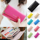 New Ladys Womens Fashion Purse Long Wallet Bags PU Handbags Card Holder Gifts