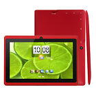 "IRola 7"" inch Android 4.4 Quad Core Tablet PC 8GB Dual Camera WiFi Bluetooth"